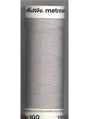 Mettler Polyester 100M Thread - Light Grey 0331