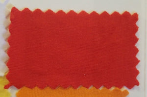 Cotton Spandex - Red - Cut in 1 Meter and 2 Meter increments