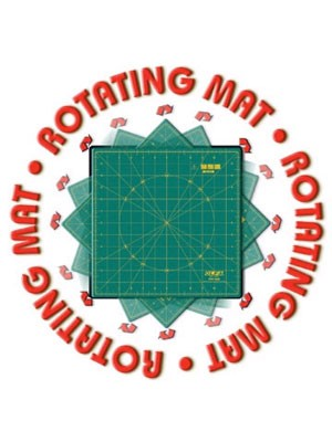 "Olfa 12"" Rotating Cutting Mat"