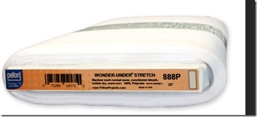 Pellon - Wonder Under Stretch - White - BOLT END