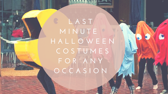 Last Minute Halloween Costumes