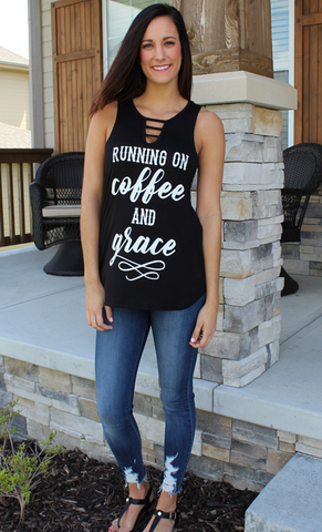 Coffee and Grace Tank