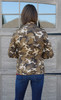 Cinch Waist Camouflage Jacket