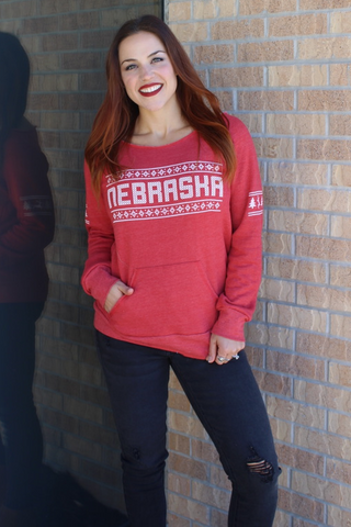 Holiday Nebraska Sweatshirt