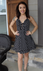 She & Sky Polka Dot Dress