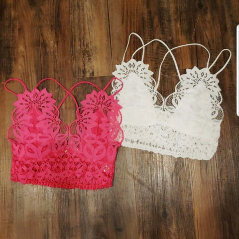 Adjustable Lace Bralette