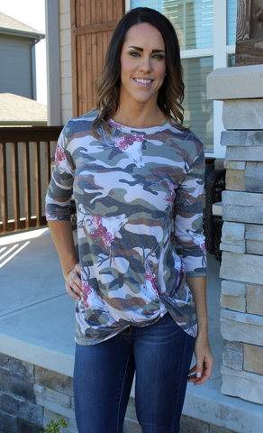 Soft Skull and Camo Twist Bottom Top