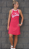 Red Game Day Tank Dress