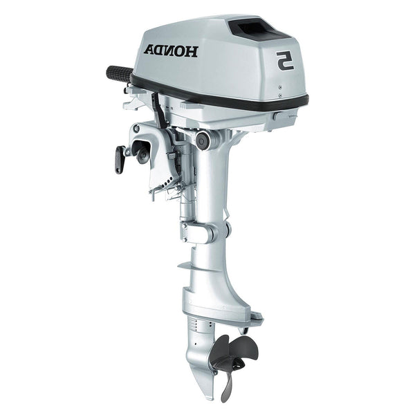 Honda 5hp 4 stroke outboard engine with short shaft rob for Honda 2 5 hp outboard motor