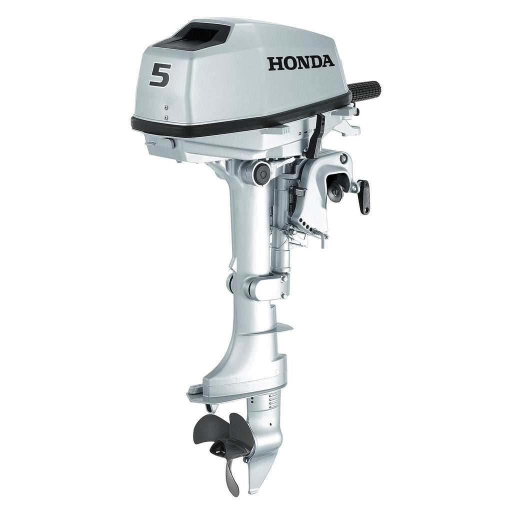 Honda 5hp 4 Stroke Outboard Engine With Long Shaft Rob