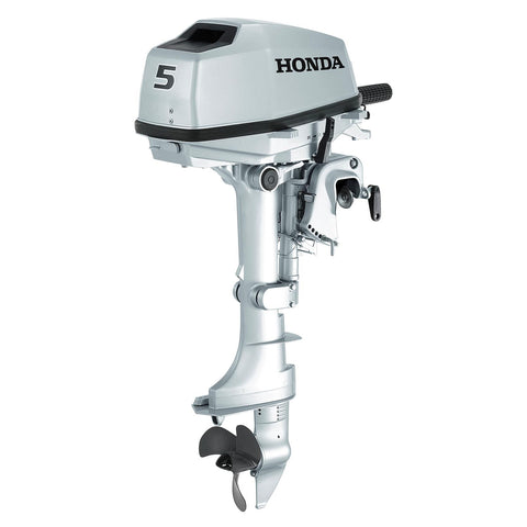 Honda 5hp 4-Stroke Outboard Engine with Long Shaft & 3 Amp Charging Coil