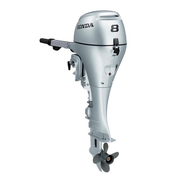 Honda 8hp 4-Stroke Outboard Engine with Long Shaft, Electric Start & R | Rob Perry Marine