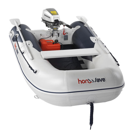 Honda Honwave 2.5m Slatted Floor Inflatable Dinghy - 3 Persons