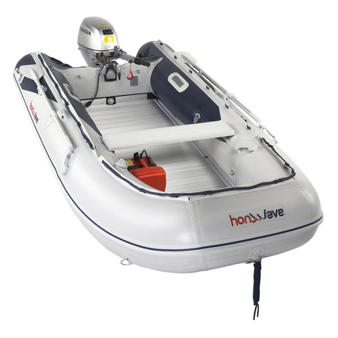 Honda Honwave 3.5m Aluminium Floor & Air Keel Inflatable Dinghy - 5 Persons