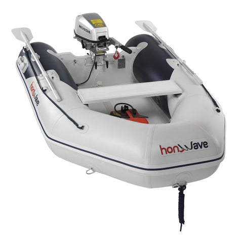 Honda Honwave 2.4m Air V-Floor Inflatable Dinghy - 3 Persons