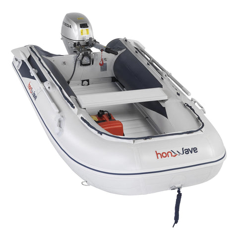 Honda Honwave 3.0m Aluminium Floor & Air Keel Inflatable Dinghy - 4 Persons