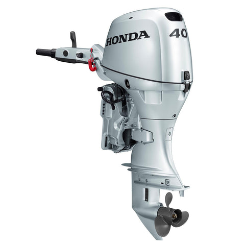 Honda 40hp 4-Stroke Outboard Engine with Long Shaft, Electric Start, Power Trim & Tilt