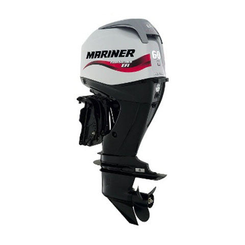 Mariner 60hp 4-Stroke Outboard Engine with Long Shaft, Electric Start, Remote Control, Command Thrust, Power Trim & Tilt