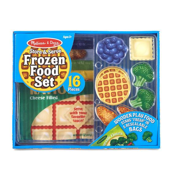 Melissa & Doug Frozen Food Set