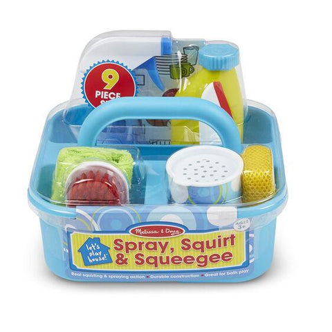 Spray, Squirt & Squeegee Play Set Melissa & Doug®