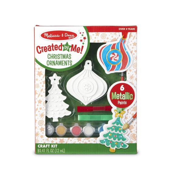 Melissa & Doug Created By Me Christmas Ornaments