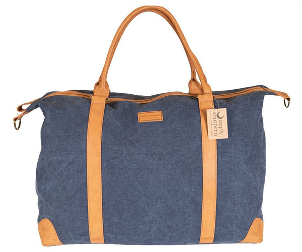 Simply Southern Waxed Canvas Duffle Bag