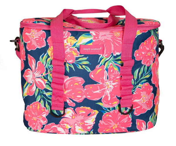 Simply Southern Hibiscus Large Cooler