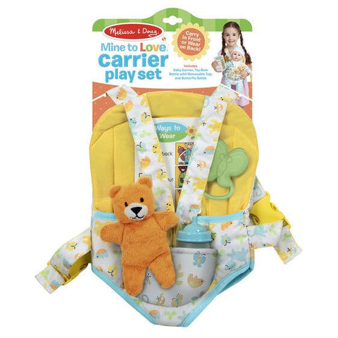 Mine to Love Carrier Play Set Melissa & Doug®