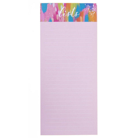 Brush Strokes Magnetic Notepad