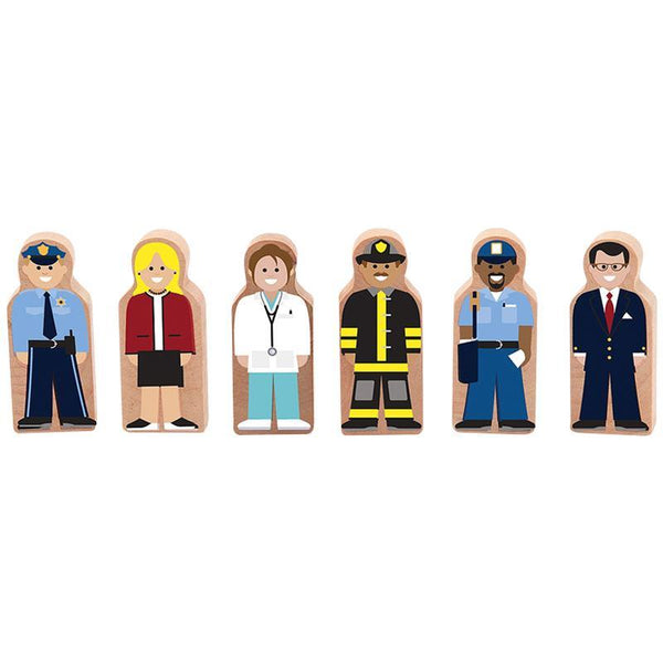Wooden People at Work Set Melissa & Doug®