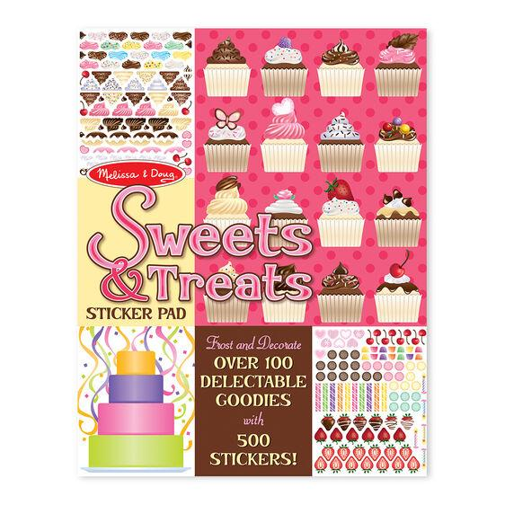 Sweets & Treats Sticker Pad Melissa & Doug®
