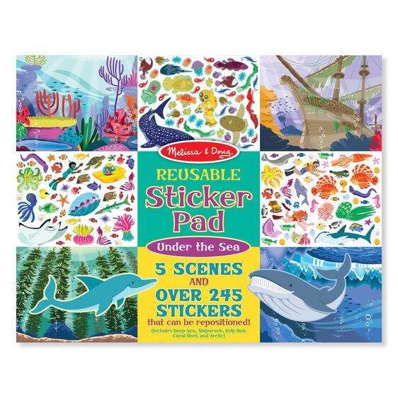 Under the Sea Reusable Sticker Pad Melissa & Doug®