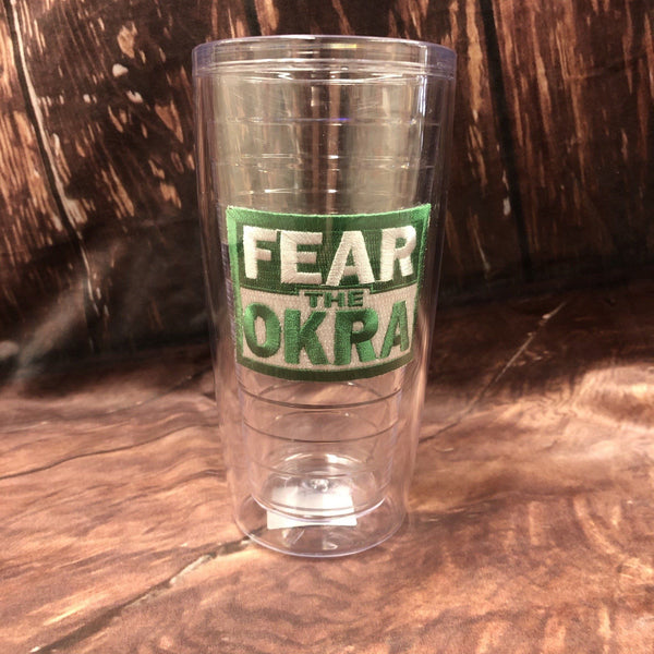 Fear the Okra Tumbler