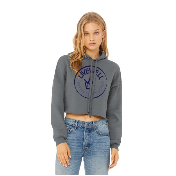 Livewell Cropped Hoodie