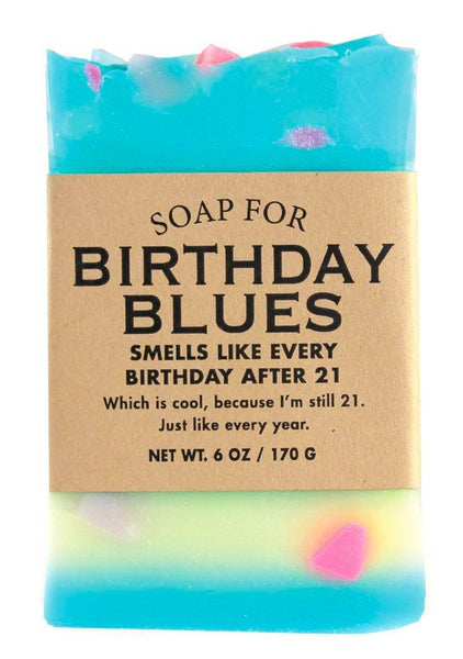 birthday soap