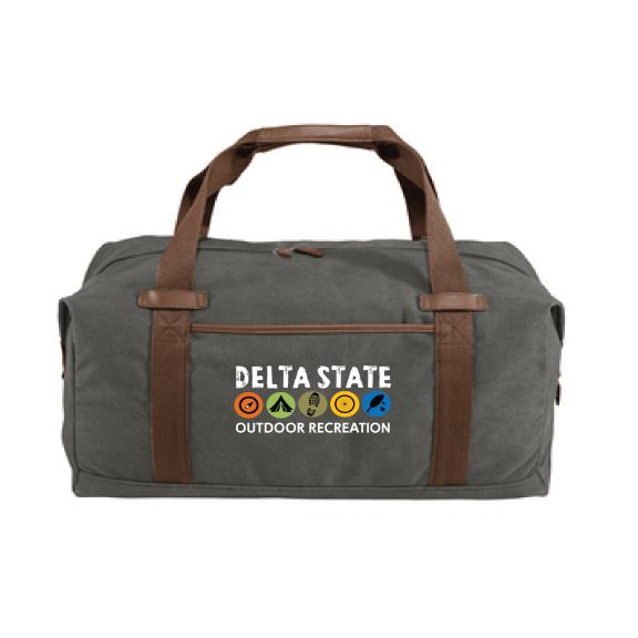 Cotton Canvas Duffel Bag