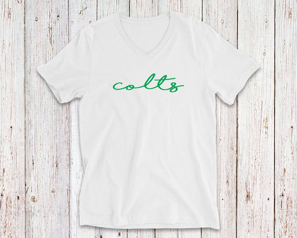 LEE Colts Shoreline V-Neck Tee