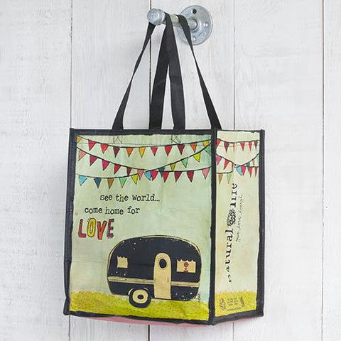See The World Recycled Tote Bag
