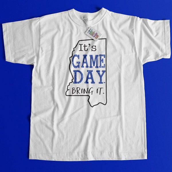 Game Day MS Blue Tee - Heidisonline