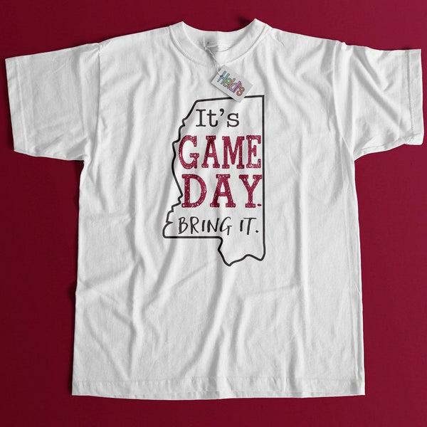 Game Day MS Maroon Tee - Heidisonline