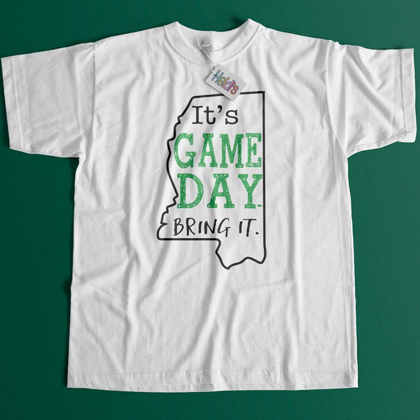 Game Day MS Green Tee - Heidisonline