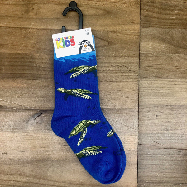 Sea Turtles Crew Socks Kids