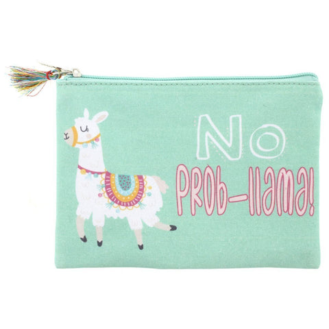 No Prob-llama Pencil/Cosmetic Bag