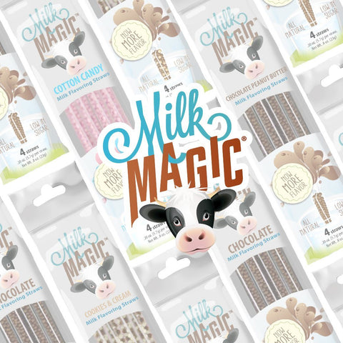 Milk Magic Straws