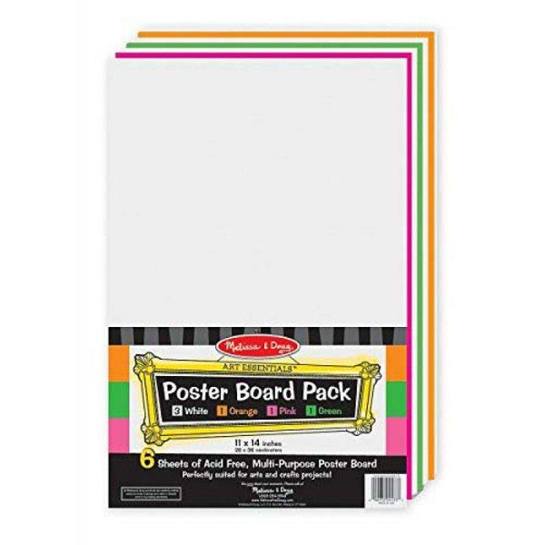 Melissa & Doug Poster Board Pack