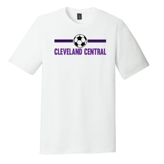 Cleveland Central Soccer Tee