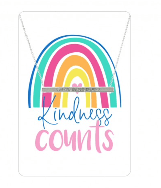 Kindness Counts Necklace