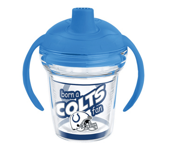 born a colts fan sippy cup