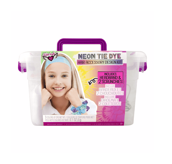Neon Tie Dye Scrunchie Kit