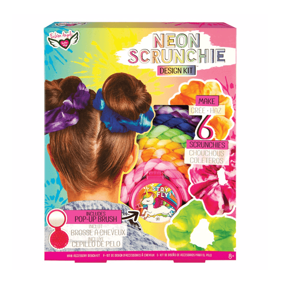 Neon Scrunchie Kit